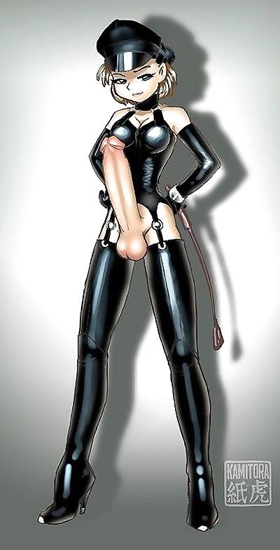 Kinky dickgirl fantasy -..