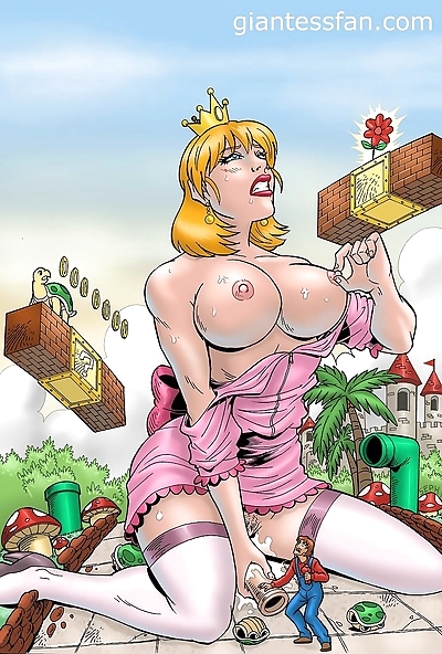 Giantess fetish porn - part 5