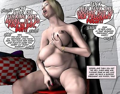 الدهون غريبة حامل orgy..