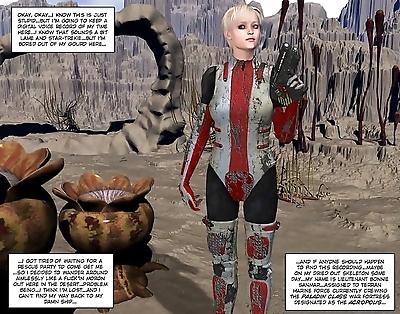 Aliens orgy 3d xxx comics..
