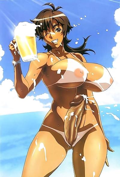 bikini futanari tại Bãi biển ..