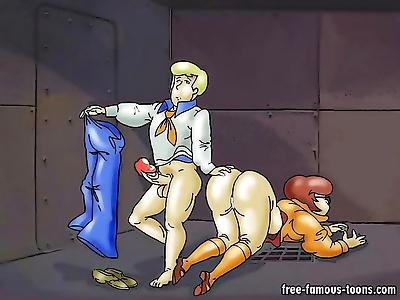 Scooby doo heroes hard sex -..
