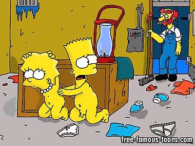 Bart and lisa simpsons orgy..