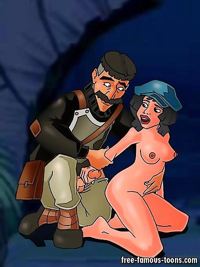 Atlantis famous cartoon..