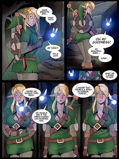 The Legend of Zelda- Temple..