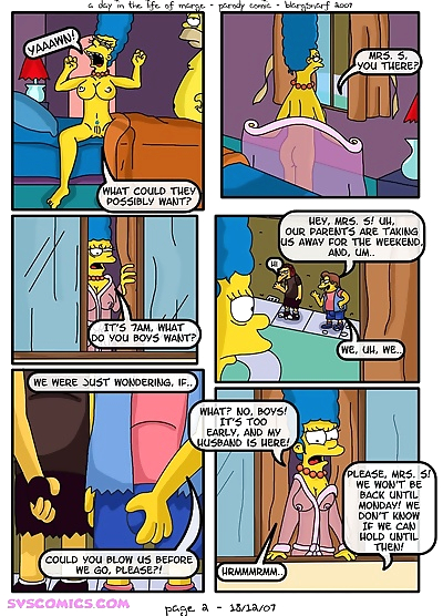 A Day in Life of Marge