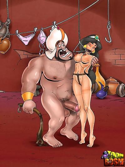 ToonBDSM- Aladdin and Jasmine